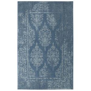 Berkshire Paxton Blue Rectangular: 5 x 8 Ft.  Area Rug