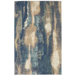 Berkshire Wendall Blue Rectangular: 5 x 8 Ft.  Area Rug