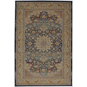 Providence Rumford Periwinkle Rectangular: 5 Ft. 3-Inch x 7 Ft. 10-Inch Rug