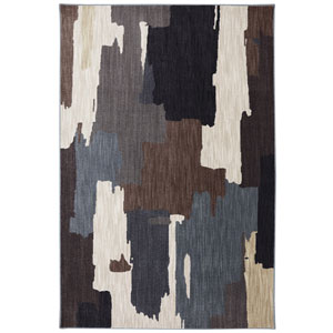 Dryden Oak Park Flint Rectangular: 5 Ft. 3 In. x 7 Ft. 10 In. Rug