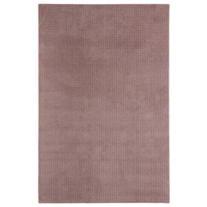 Casual Tone on Tone Plum Beige Rectangular: 6 Ft. x 9 Ft. Rug