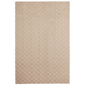 Casual Tone on Tone Taupe Rectangular: 6 Ft. x 9 Ft. Rug