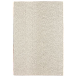 Casual Tone on Tone Ivory Rectangular: 6 Ft. x 9 Ft. Rug