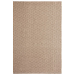 Casual Tone on Tone Mushroom Rectangular: 6 Ft. x 9 Ft. Rug