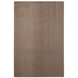 Casual Tone on Tone Leather Rectangular: 6 Ft. x 9 Ft. Rug