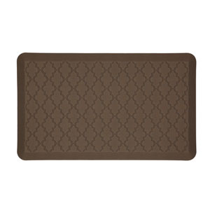 Casual Geometric Brown Rectangular: 1 Ft. 6 In. x 2 Ft. 6 In. Rug