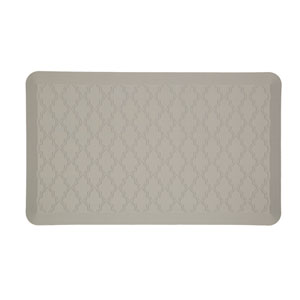 Casual Geometric Gray Rectangular: 1 Ft. 6 In. x 2 Ft. 6 In. Rug