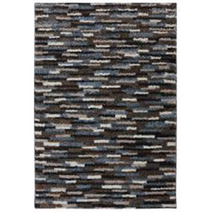 Contemporary Taupe Rectangular: 5 Ft. x 8 Ft. Rug