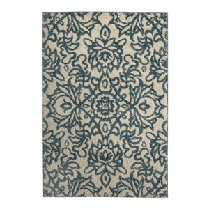Transitional Ivory Rectangular: 3 Ft. 4 In. x 5 Ft. 6 In. Rug
