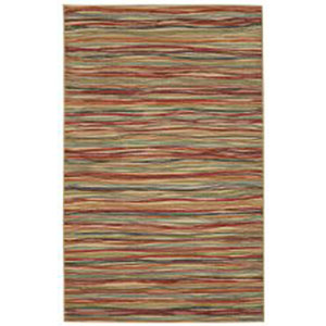 Casual Multicolor Rectangular: 5 Ft. x 7 Ft. Rug