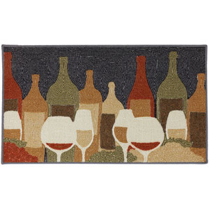 Casual Multicolor Rectangular: 1 Ft. 8 In. x 2 Ft. 10 In Rug
