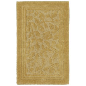 Casual Gold Rectangular: 2 Ft. 6 In. x 4 Ft. 2 In. Rug