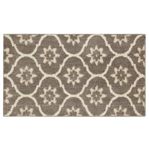 Transitional Gray Rectangular: 2 Ft. 1 In. x 3 Ft. 8 In. Rug