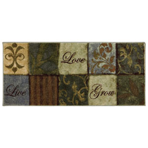 Transitional Multicolor Rectangular: 1 Ft. 8 In. x 3 Ft. 9 In. Rug