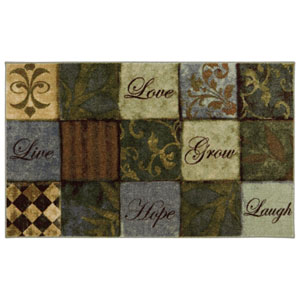 Transitional Multicolor Rectangular: 2 Ft. 6 In. x 4 Ft. 2 In. Rug