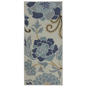 Transitional Beige Rectangular: 1 Ft. 8 In. x 3 Ft. 9 In. Rug