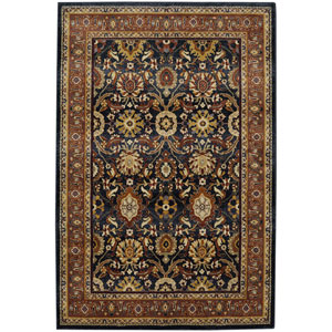 Traditional Multicolor Rectangular: 8 Ft. x 11 Ft. Rug