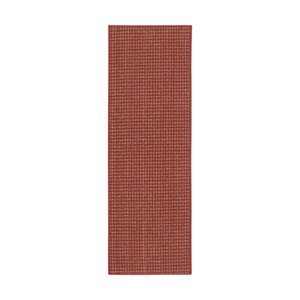 Casual Crimson Rectangular: 1 Ft. 8 In. x 5 Ft.Rug Rug