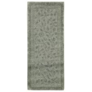 Casual Sage Green Runner: 2 Ft. x 5 Ft. Rug