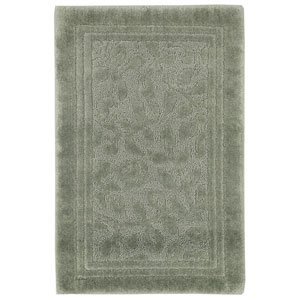Casual Sage Green Rectangular: 2 Ft. 6 In. x 4 Ft. 2 In. Rug