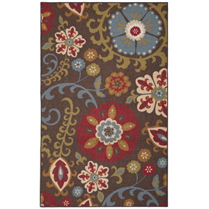 Transitional Multicolor Rectangular: 8 Ft. x 10 Ft. Rug