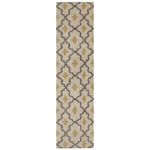Contemporary Almond Runner: 2 Ft. 1 In. x 7 Ft. 10 In. Rug