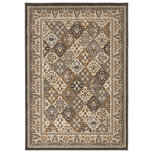 Traditional Multicolor Rectangular: 5 Ft. 3 In. x 7 Ft. 6 In. Rug