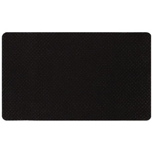 Casual Black Rectangular: 1 Ft. 6 In. x 2 Ft. 6 In. Rug