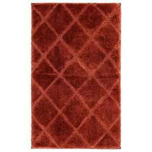 Casual Rust Rectangular: 1 Ft. 8 In. x 2 Ft. 10 In. Rug