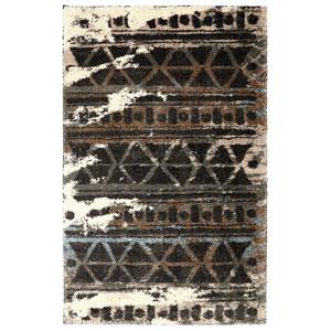 Contemporary Charcoal Rectangular: 5 Ft. x 8 Ft. Rug