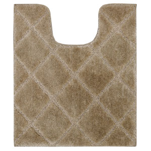 Casual Tan Contour: 1 Ft. 8 In. x 2 Ft. Rug