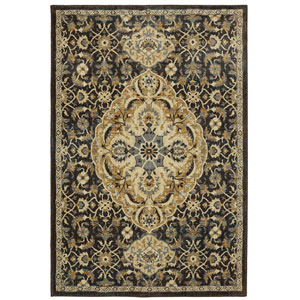 Traditional Brown Rectangular: 8 Ft. x 10 Ft. Rug