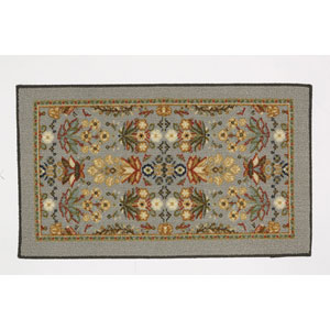 Traditional Multicolor Rectangular: 1 Ft. 8 In. x 2 Ft. 10 In. Rug