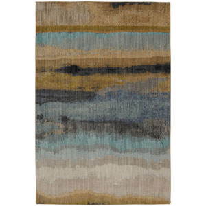 Contemporary Oyster Rectangular: 5 Ft. 3 In. x 7 Ft. 10 In. Rug