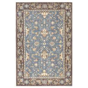Traditional Multicolor Rectangular: 8 Ft. x 10 Ft. Rug