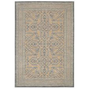 Traditional Gray Rectangular: 5 Ft. 3 In. x 7 Ft. 10 In. Rug