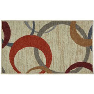 Transitional Multicolor Rectangular: 1 Ft. 6 In. x 2 Ft. 6 In. Rug