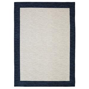 Transitional Blue Rectangular: 5 Ft. x 8 Ft. Rug