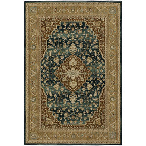 Traditional Cream Rectangular: 5 Ft. 3 In. x 7 Ft. 10 In. Rug