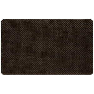Casual Chocolate Rectangular: 1 Ft. 6 In. x 2 Ft. 6 In. Rug