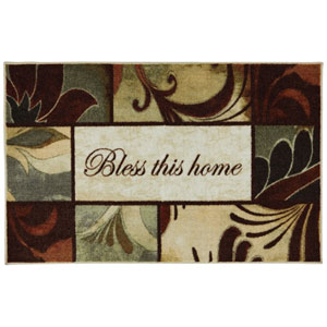 Transitional Multicolor Rectangular: 2 Ft. 6 In. x 4 Ft. Rug