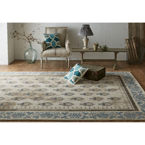 Transitional Ornamental Multicolor Rectangular: 5 Ft. 3 In. x 7 Ft. 10 In. Rug