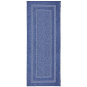Casual Border Infinity Blue Rectangular: 1 Ft. 8 In. x 2 Ft. 10 In.
