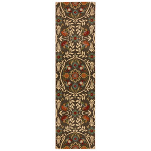 Transitional Floral Multicolor Rectangular: 3 Ft. 6 In. x 5 Ft. 6 In. Rug