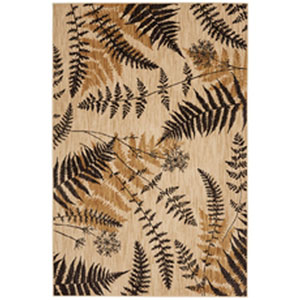 Transitional Nature Ashen Rectangular: 5 Ft. 3 In. x 7 Ft. 10 In.
