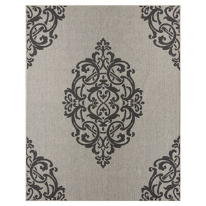 Transitional Ornamental Onyx Rectangular: 5 Ft. 3 In. x 7 Ft. 6 In. Rug