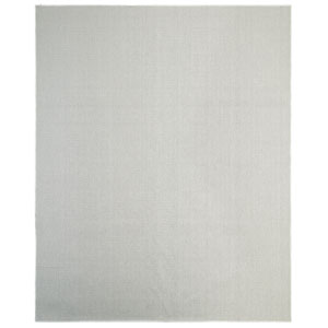 Casual Solid Gray Rectangular: 8 Ft. x 10 Ft. Rug