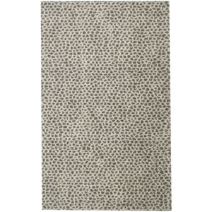 Transitional Animal Print Beige Rectangular: 8 Ft. x 10 Ft. Rug