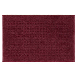 Casual Solid Cabernet Rectangular: 2 Ft. x 3 Ft.