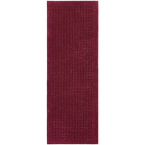Casual Solid Cabernet Rectangular: 2 Ft. 2 In. x 6 Ft.